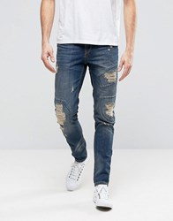 Hoxton Denim Jeans Patch Rip And Repair Patch Yellow Wash Jean Yellow