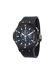 Hublot 'Big Bang Aero Bang' Analog Watch Black