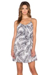 Sam Edelman Inverted Pleat Tank Dress Black And White