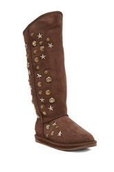 Australia Luxe Collective Angel X Genuine Sheepskin Tall Boot Brown