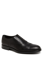 Tod's 'Francesina' Cap Toe Oxford Black