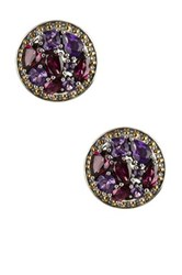 Effy Sterling Silver And 14K Yellow Gold Gemstone Earrings Multi