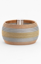 Alor Wide Cuff Nordstrom Exclusive Yellow Blush Grey