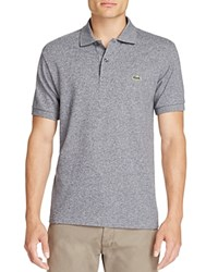 Lacoste Classic Fit Polo Navy Blue Mouline