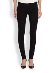 Rag And Bone The Mid Rise Leggings Black Plush