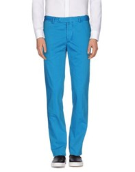 Kiton Trousers Casual Trousers Men Turquoise