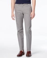 Tommy Hilfiger Men's Joey Custom Fit Check Pants Griffin