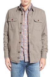 Men's Faherty Blanket Lined Shirt Jacket
