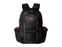 Travelpro Tpro Bold 2.0 Computer Backpack Black Purple Backpack Bags Multi