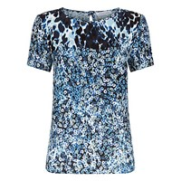 Fenn Wright Manson Animal Flower Cosmic Top Blue