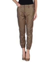Black Orchid Casual Pants Dark Brown