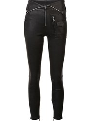 Rta Leather Trousers Black