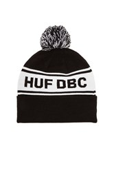 Huf Dbc Pom Beanie Black And White