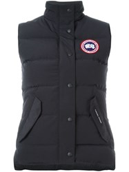 Canada Goose 'Freestyle' Padded Gilet Black