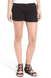 Hudson Jeans Women's 'Croxley' Cuffed Shorts Black