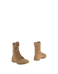 O.X.S. Ankle Boots Beige