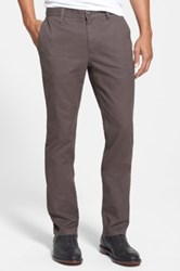 Bonobos Tailored Fit Washed Chinos Brown