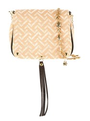 Xaa Pattern Shoulder Bag Nude Neutrals