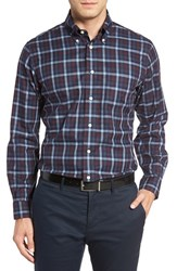 Brooks Brothers Men's Regent Fit No Iron Check Sport Shirt