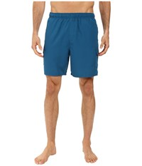 Quiksilver Balance 6 Elastic Waist Volley Short Morocco Blue Men's Shorts