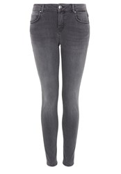 Hallhuber Denim Skinny Crop Jeans Grey