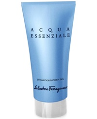 Receive A Complimentary Shower Gel Mini With Large Spray Purchase From The Salvatore Ferragamo Acqua Essenziale Men's Fragrance Collection