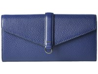 Ecco Isan Clutch Wallet Deep Cobalt Wallet Handbags Blue
