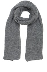 Isabel Marant Zephyr Cashmere Scarf In Gray