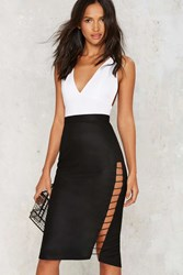 Nasty Gal Love On The Side Mini Skirt