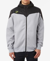Fox Men's Kronos Zip Up Fleece Silver