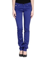 Sexy Woman Casual Pants Bright Blue