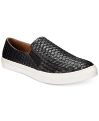 Wanted Boca Woven Slip On Sneakers Women's Shoes Black