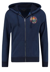 Abercrombie And Fitch Tracksuit Top Navy Dark Blue