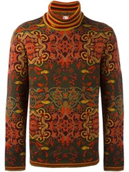 Antonio Marras Intarsia Wool Jumper