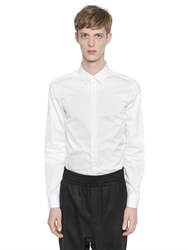 Wooyoungmi Slim Fit Cotton Poplin Shirt