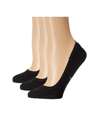 Smartwool Secret Sleuth 3 Pack Black Women's No Show Socks Shoes