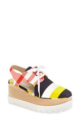 Women's Stella Mccartney 'Scarpa' Platform Cutout Oxford