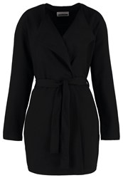 Noisy May Nmtria Short Coat Black