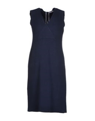 Rossopuro Short Dresses Dark Blue