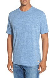 Tommy Bahama Men's 'Sunday's Best' Island Modern Fit Crewneck T Shirt Bright Cobalt Heather