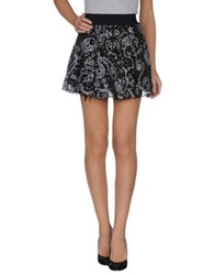 Twenty Easy By Kaos Mini Skirts Black
