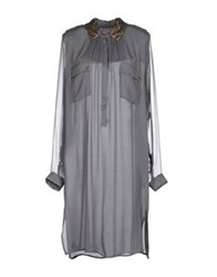 Day Birger Et Mikkelsen Short Dresses Grey