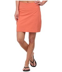 Royal Robbins Discovery Skort Persimmon Women's Skort Orange