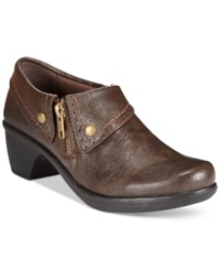 Easy Street Shoes Easy Street Darcy Shooties Women's Shoes Brown