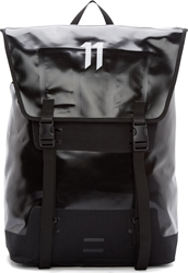 11 By Boris Bidjan Saberi Black Oversized Backpack