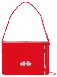 Carven 'Joy' Shoulder Bag Red