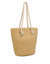 Magid Large Straw Tote Natural