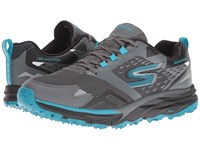 Skechers Gotrail Adventure Charcoal Blue Women's Running Shoes Multi