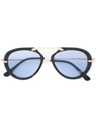 Tom Ford 'Tom N11' Sunglasses Black