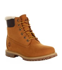 Timberland 6 Inch Premium Shearling Boots Female Brown